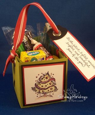 Handmade Favor Treat Box