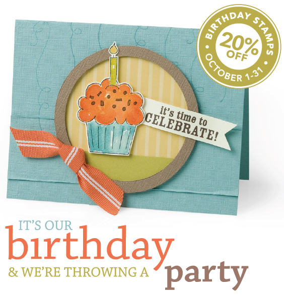 Stampin' Up! turns 20 years old this month!